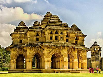 Karnataka Photograph - Lotus Mahal - Hampi by Mithun Kundu Photography