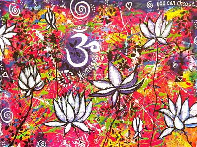 Painting - Lotus Playground by Jennifer Charton
