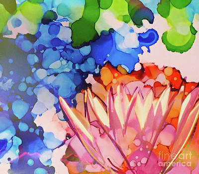 Painting - Lotus by Shelley Myers