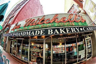 Photograph - Lou Mitchell's Chicago Fisheye by John Rizzuto