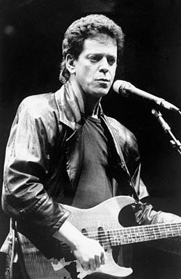 New York City Photograph - Lou Reed Sings At Childrens Health by New York Daily News Archive