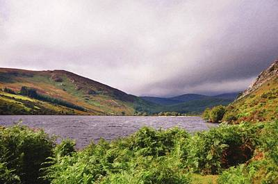 Photograph - Lough Tay. Wicklow Hills by Jenny Rainbow