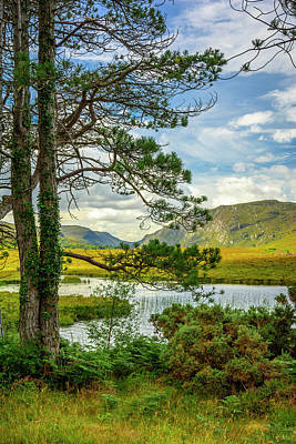 Photograph - Lough Veagh by Alan Campbell
