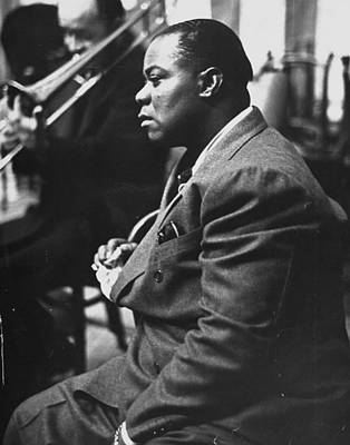 Photograph - Louis Armstrong by Carl Mydans