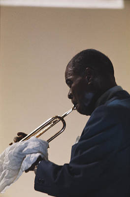 Photograph - Louis Armstrong by Erich Auerbach
