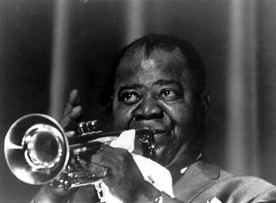 Photograph - Louis Armstrong In Concert by Keystone-france