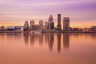 Photograph - Louisville Long Exposure by Dan Sproul