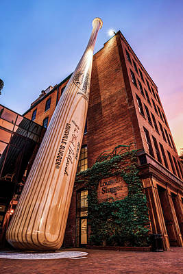 Photograph - Louisville Slugger Bat Factory And Museum by Gregory Ballos