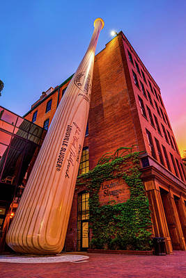 Photograph - Louisville Slugger Museum And Factory - Kentucky by Gregory Ballos