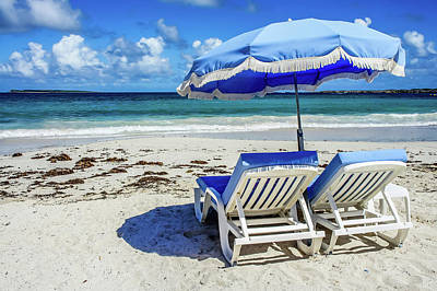 Photograph - Lounging On Orient Beach, St. Martin by Dawn Richards