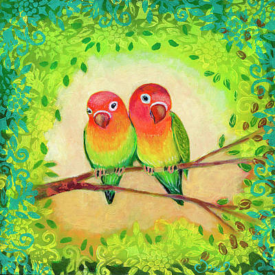 Royalty-Free and Rights-Managed Images - Love Birds by Jennifer Lommers