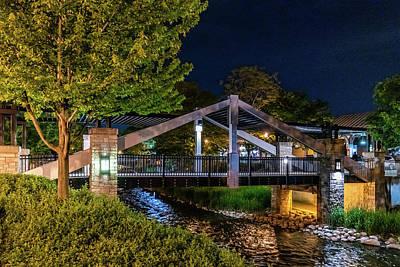 Photograph - Love Bridge by Randy Scherkenbach