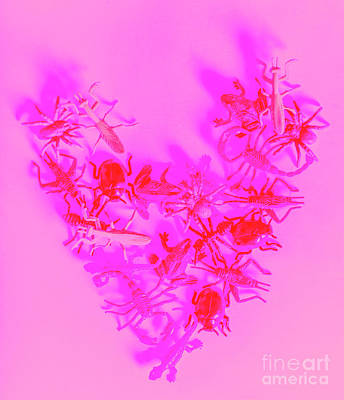Ladybug Wall Art - Photograph - Love Bug Pop Heart by Jorgo Photography - Wall Art Gallery