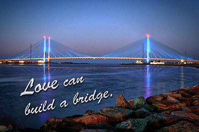 Photograph - Love Can Build A Bridge Indian River by Bill Swartwout Photography