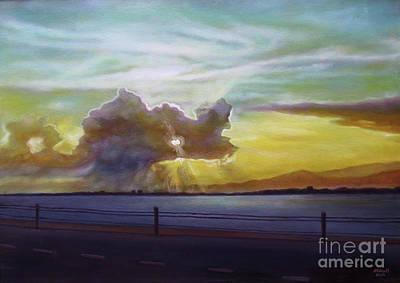 Painting - Love Cloud by Ewan McAnuff