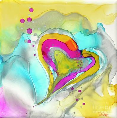 Painting - Love Floats by Lisa DuBois