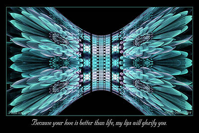 Digital Art - Love Is Better by Missy Gainer