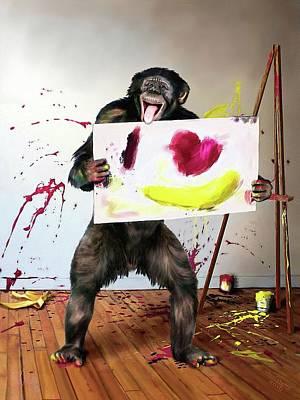 Digital Art - Love Is... by Jann Paxton