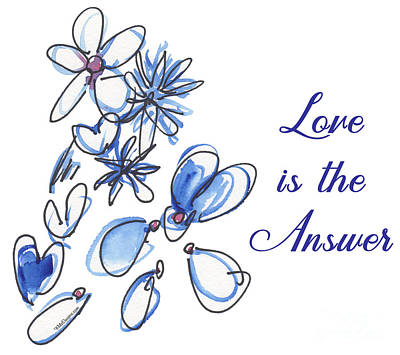 Painting - Love Is The Answer by Kathleen McElwaine