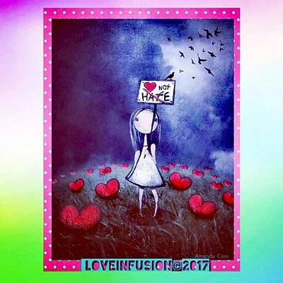 Wall Art - Digital Art - Love Yourself And You Cannot Hate by Love Infusion