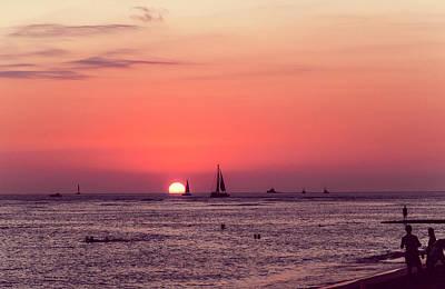 Lovers Sunset In Hawaii 0003 Original