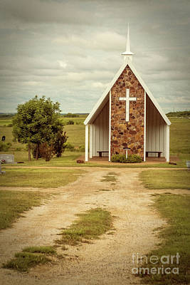 Photograph - Loving Cemetery Chapel   by Imagery by Charly