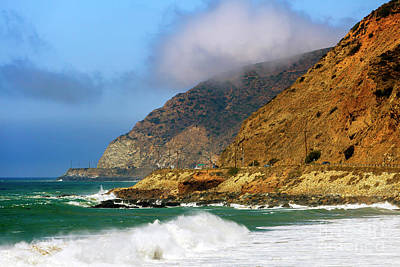 Photograph - Low Clouds Along The Pacific Coast Highway by John Rizzuto