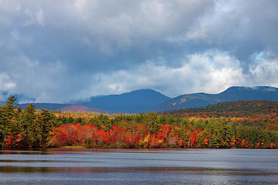 Photograph - Low Hills Surround Mount Chocorua by Jeff Folger