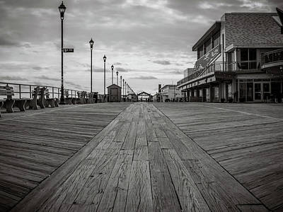 Photograph - Low On The Boardwalk by Steve Stanger
