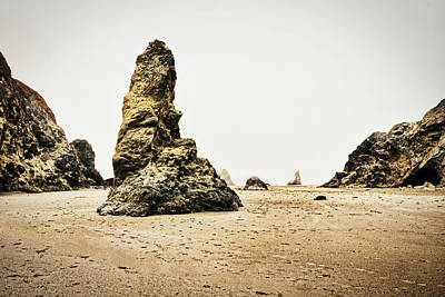 Photograph - Low Tide At Bandon Beach - Oregon by Stuart Litoff