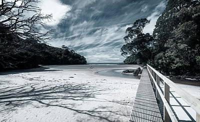 Photograph - Low Tide Crossing Stewart Island New Zealand II by Joan Carroll
