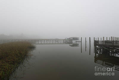 Photograph - Lowcountry Island Fog by Dale Powell