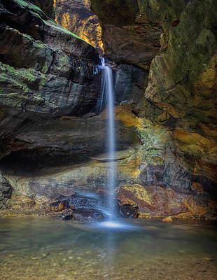 Wall Art - Photograph - Lower Falls, Conkle's Hollow State Nature Preserve by Martin Belan