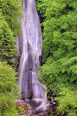 Photograph - Lower Falls Of Acharn - Perthshire Scotland - Waterfall by Jason Politte