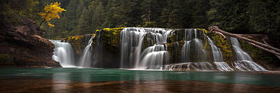 Photograph - Lower Lewis Falls Pano by Ryan Smith