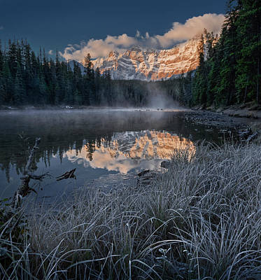 Photograph - Lower Waterfowl Lake by Dan Jurak