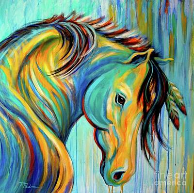 Wall Art - Painting - Loyal One by Theresa Paden