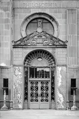 Photograph - Loyola University Strada Chapel Doorway by University Icons