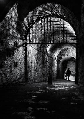 Photograph - Lucca Tuscany Street Photography by Frank Andree