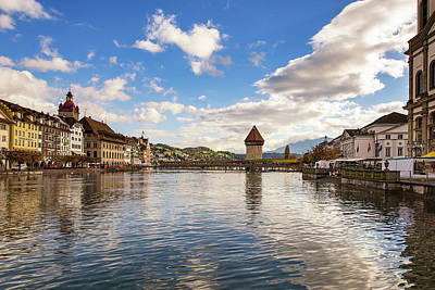 Photograph - Lucerne At Mid Day by Liran Eisenberg
