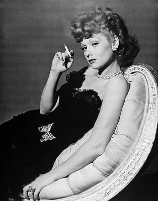 Photograph - Lucille Ball by John Florea