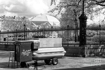 Lucky Dogs Wall Art - Photograph - Lucky Day For Lucky Dogs New Orleans Infrared by John Rizzuto
