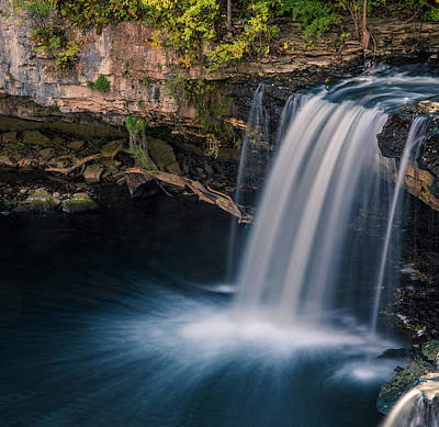 Photograph - Ludlow Falls Ohio by Dan Sproul
