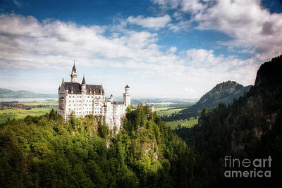 Photograph - Ludwig's Castle by Scott Kemper