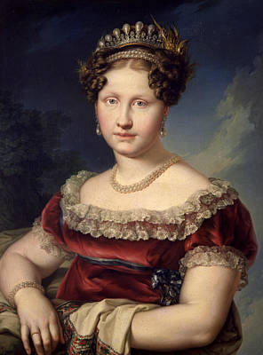 Painting - Luisa Carlota De Borbon-dos Sicilias by Vicente Lopez Portana
