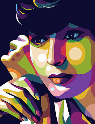 Royalty-Free and Rights-Managed Images - Luise Rainer illustration by Stars on Art