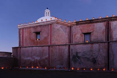 Photograph - Luminaria Evening by Tom Daniel