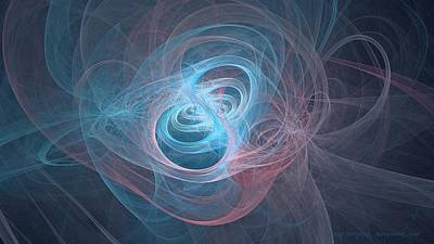 Digital Art - Luminous Gyroscope by Doug Morgan