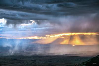 Photograph - Luminous Storm by Leland D Howard
