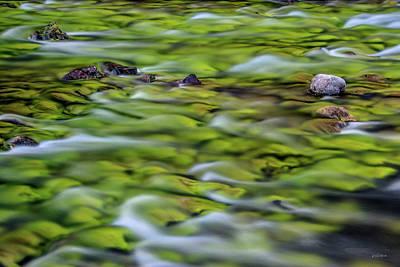 Photograph - Luminous Waters 1 by Leland D Howard